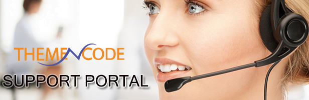 ThemeNcode Support portal