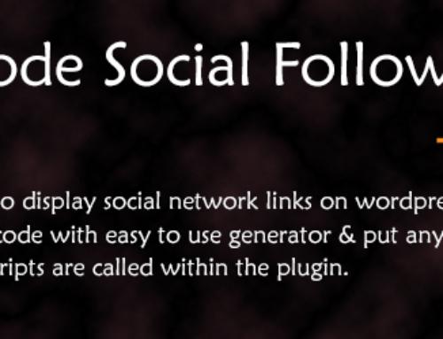 ThemeNcode Social Follow Buttons Demo
