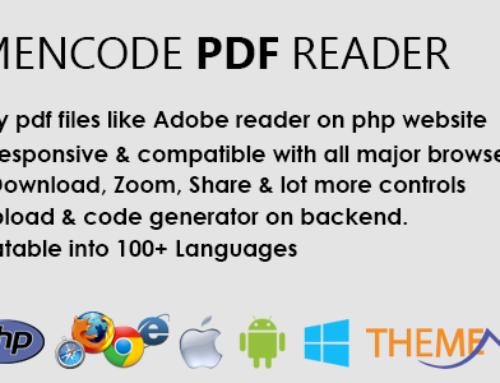 [PHP SCRIPT] ThemeNcode PDF Reader
