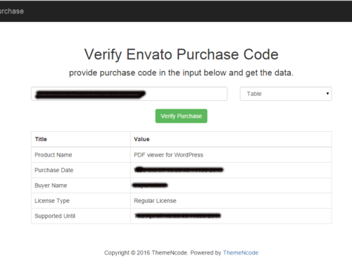 Verify Your Envato Clients using Purchase code [Free PHP Script]