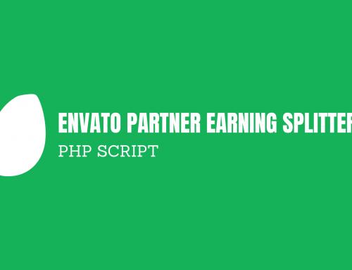Envato Partner Earning Splitter [PHP SCRIPT]